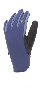 Sealskinz Waterproof all weather gloves blue