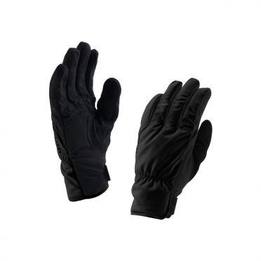 SealSkinz Brecon cycling gloves black