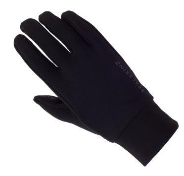 SealSkinz Stretch fleece nano cycling gloves black