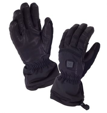 SealSkinz Extreme cold weather heated cycle glove black
