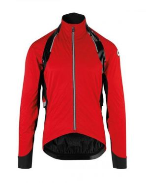Assos rS.sturmPrinz EVO rain jacket red unisex