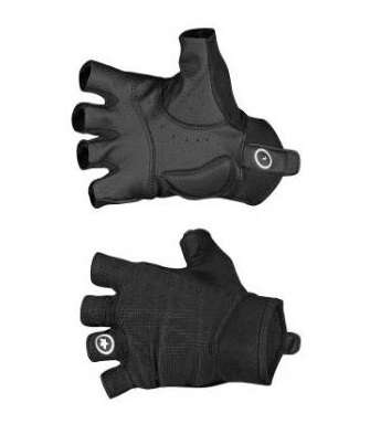 Assos HF Shasha cycling gloves black unisex