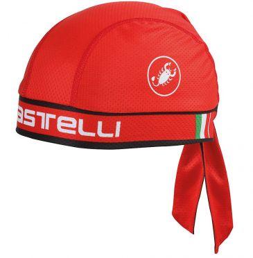 Castelli Bandana red unisex