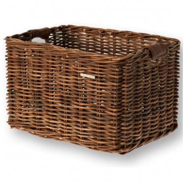Basil Dorset wicker bike basket brown L