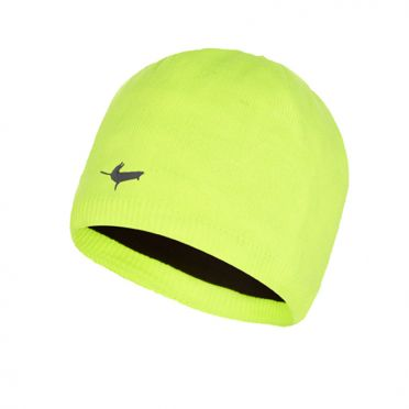 Sealskinz Waterproof beanie hat yellow