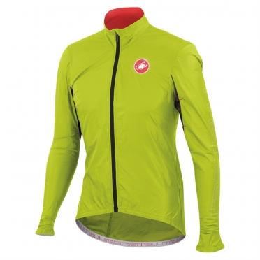 Castelli velo jacket long sleeves jacket lime men's 14026-043 2014
