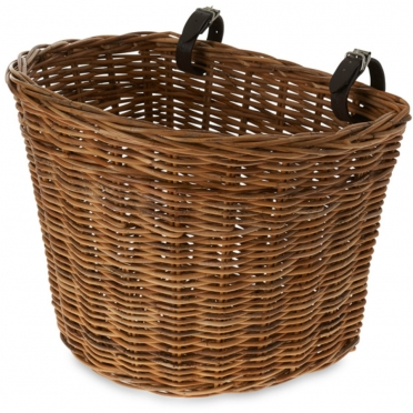 Basil Darcy wicker bike basket