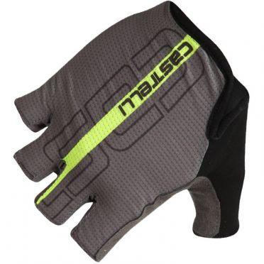Castelli Tempo glove black/yellow fluo men