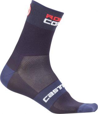 Castelli Rosso corsa 6 cycling sock blue men