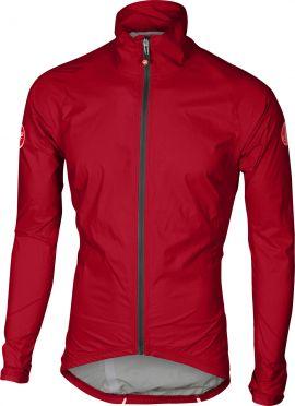 Castelli Emergengy rain jacket red men