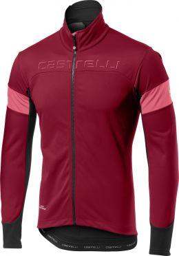 Castelli Transition jacket red/purple men