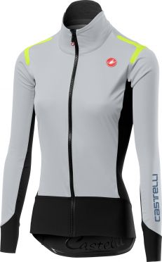 Castelli Alpha ros W long sleeve jersey gray women