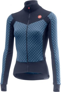 Castelli Sfida W long sleeve jersey blue women