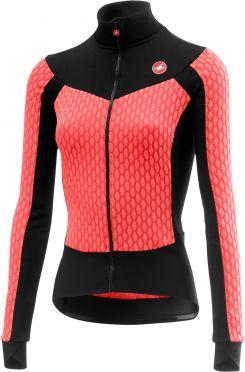 Castelli Sfida W long sleeve jersey pink women