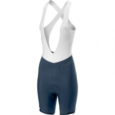 Castelli Vista bibshort blue women