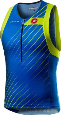 Castelli Free tri top blue men