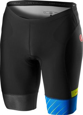 Castelli Free tri short black/blue men