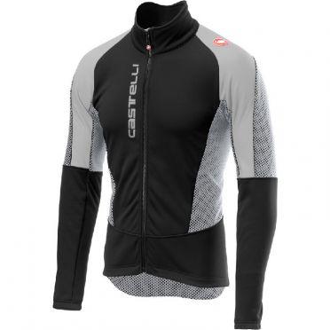 Castelli Mortirolo V jacket black/grey men