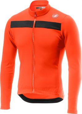 Castelli Puro 3 jersey orange men