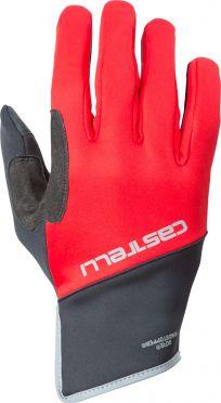 Castelli Scalda Pro glove black/red men
