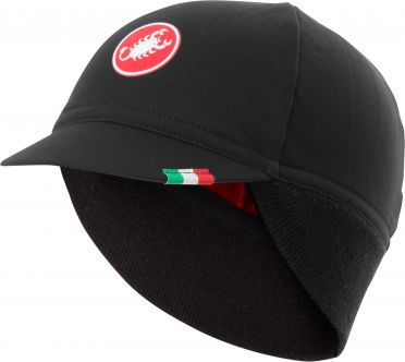 Castelli Difesa thermal cap under helmet black