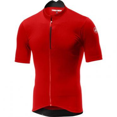 Castelli Espresso jersey red men