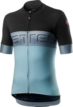 Castelli Prologo VI jersey anthracite/blue men