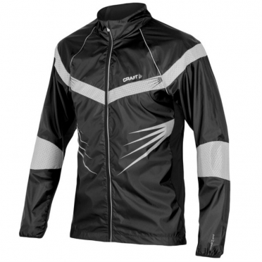 Craft Performance Run Brilliant jacket men black