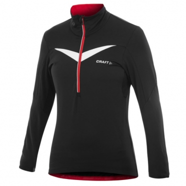 Craft Performance Bike Thermal Top women black/red 1902317