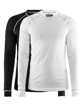 Craft Active Multi 2-pack top light black/white men