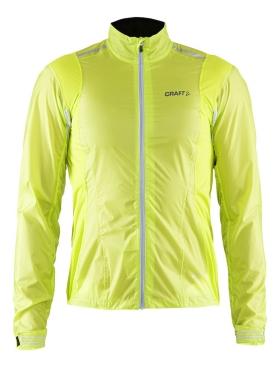 Craft Tempest rain jacket men yellow