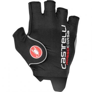 Castelli Rosso corsa pro glove black men