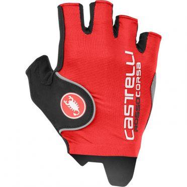 Castelli Rosso corsa pro glove red men
