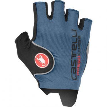 Castelli Rosso corsa pro glove blue men