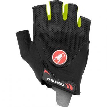 Castelli Arenberg gel 2 glove black/yellow fluo men