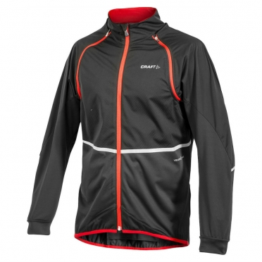 Craft Performance Bike Adapt Storm cycling jacket men black/red