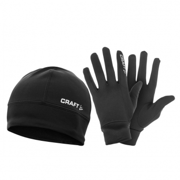 Craft Running winter gift pack thermo hat + thermo gloves