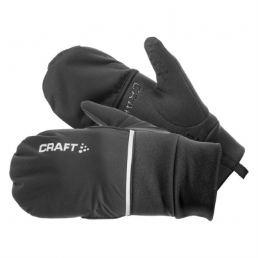 Craft Hybrid weather running glove black