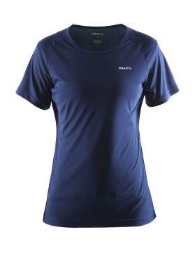 Craft Prime short sleeve running shirt blue/navy women