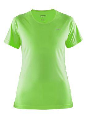 Craft Prime short sleeve running shirt green women