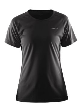 Craft Prime short sleeve running shirt black women