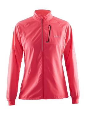 Craft Devotion running jacket pink women