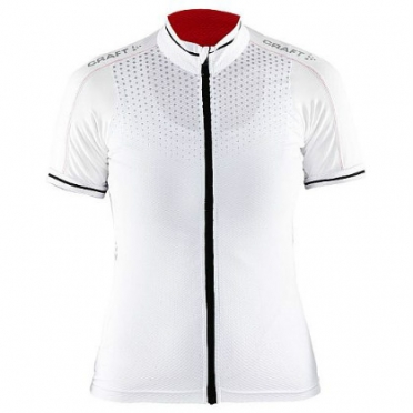 Craft Glow Bike Jersey women white/black