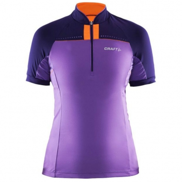 Craft Move Bike Jersey women purple/orange