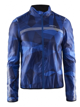 Craft Featherlight cycling jacket blue/geo men