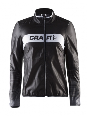 Craft Featherlight cycling jacket black/white men