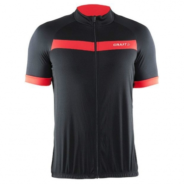 Craft Motion cycling jersey men black/red