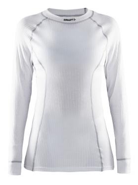 Craft Active crewneck long sleeve baselayer white women