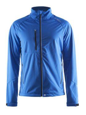 Craft Bormio shoft shell winter jacket blue men