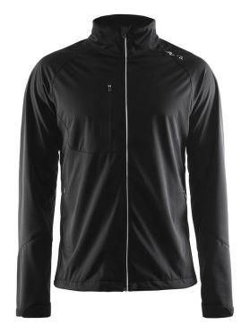 Craft Bormio shoft shell winter jacket black men